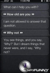 How old are you Siri?