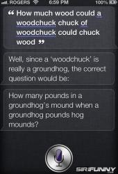 How much wood could a woodchuck chuck
