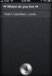 Siri, where do you live?