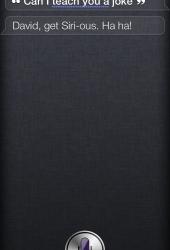 Teach Siri a joke