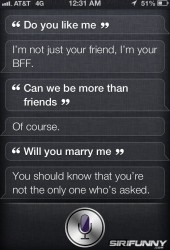Siri\'s relationship