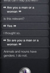 Are you a man or a woman?