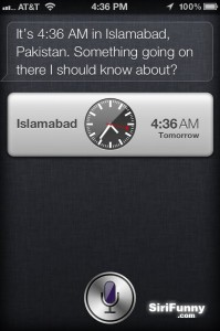 Siri works for homeland security?