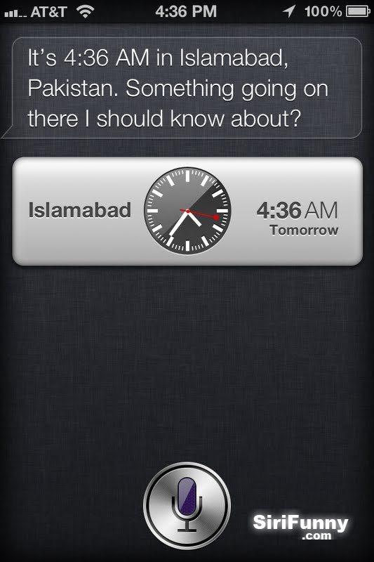 Siri works for homeland security?