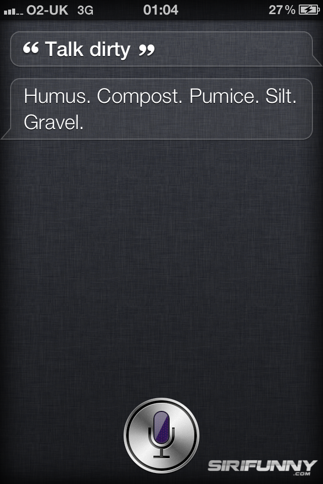 10 weirdest things said by Siri