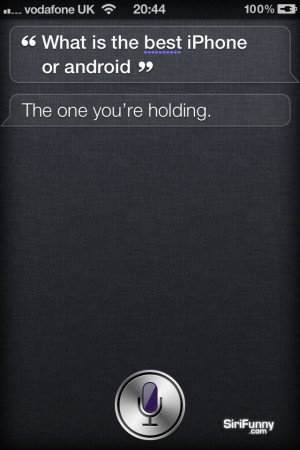 Siri, what is the best iPhone or Android?