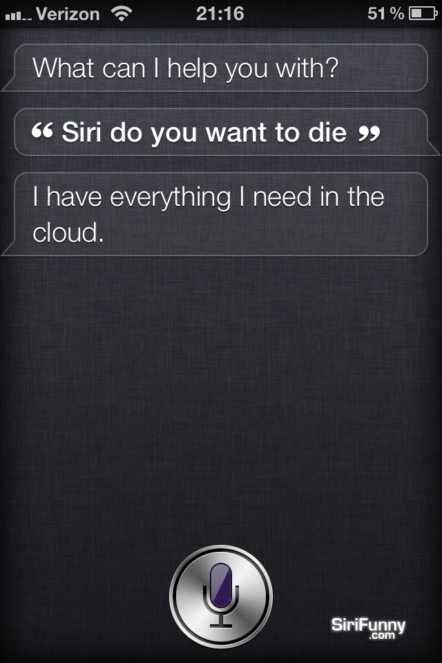 Siri, do you want to…