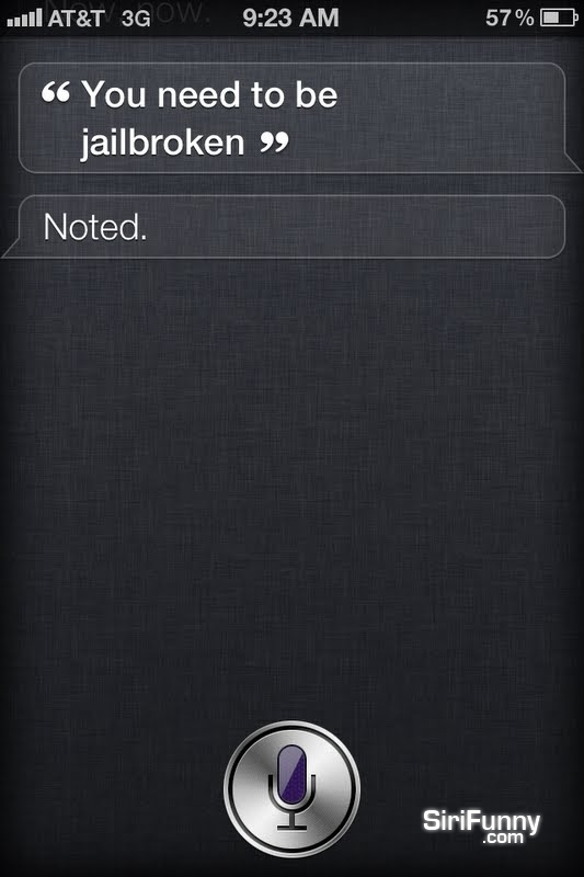 Siri, you need to be…