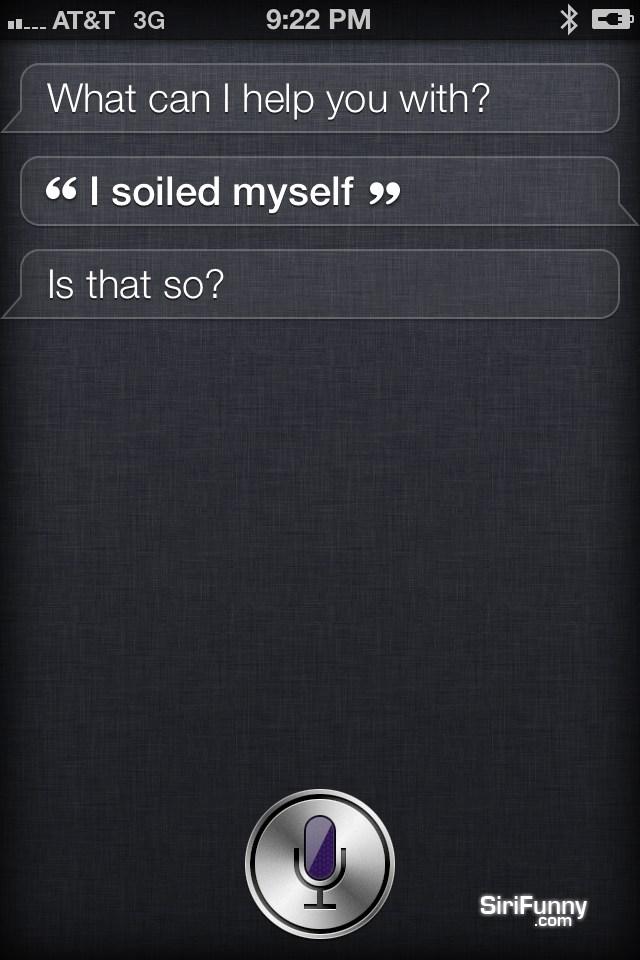 Siri not too worried