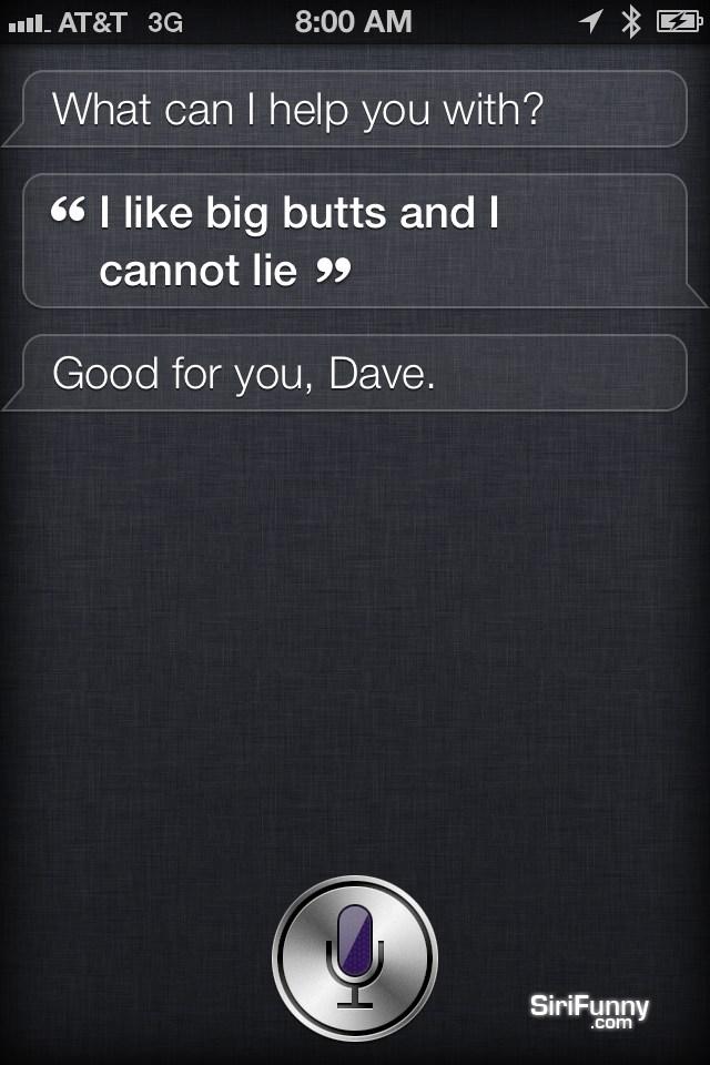 Siri, I like…