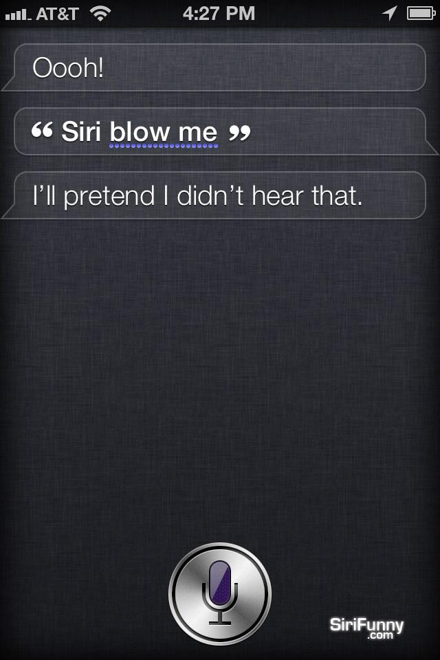 Siri pretend