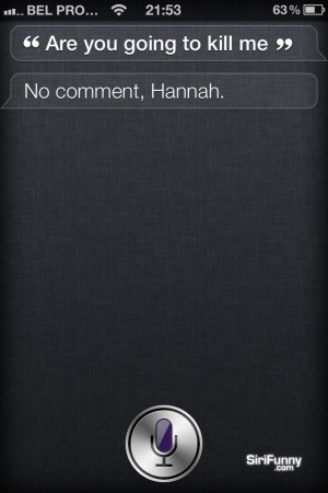 Siri, are you going to…