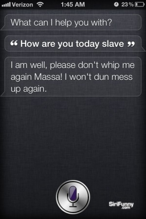 How are you today, Siri?