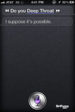 Siri, do you…