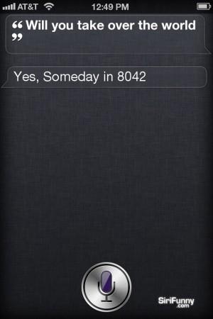 Siri reveal wild plans