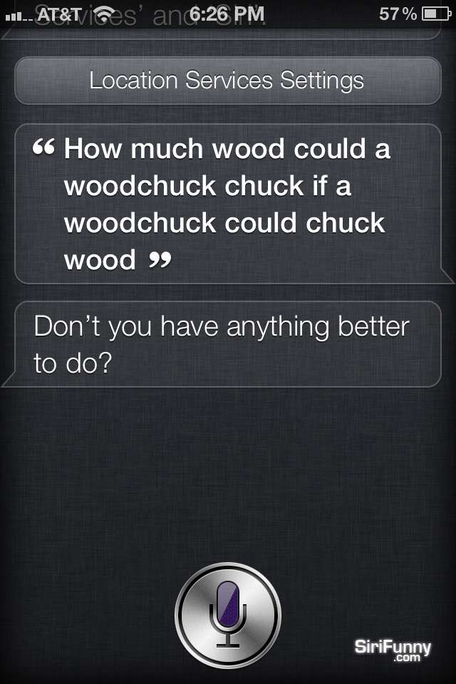 How much, Siri?