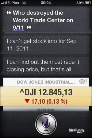 Siri about 9/11