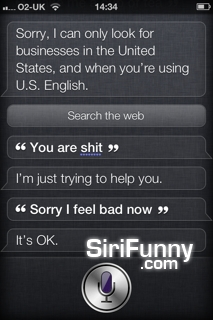 Siri, you are…