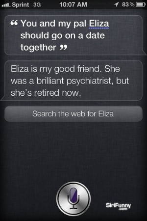 Go on a date with Siri