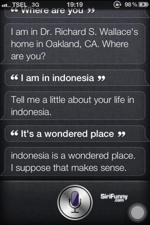 Siri about Indonesia