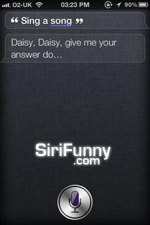 Sing a song Siri
