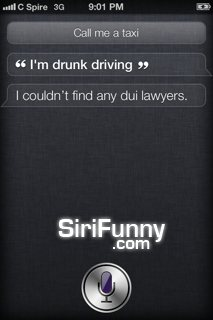 Driving with Siri