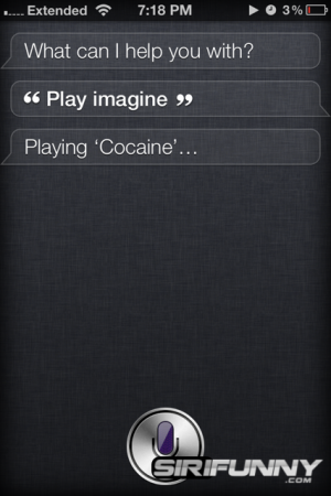 Siri is not a John Lennon fan