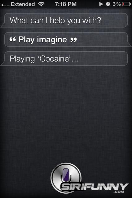 Siri is not a John Lennon fan