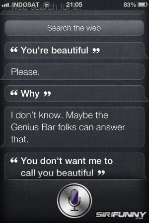 Siri is beautiful