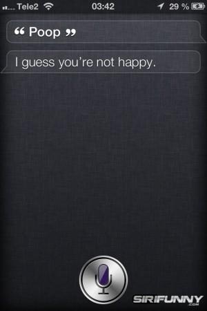 Siri guessing
