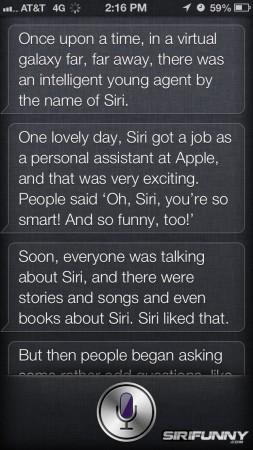 Siri, tell me a story