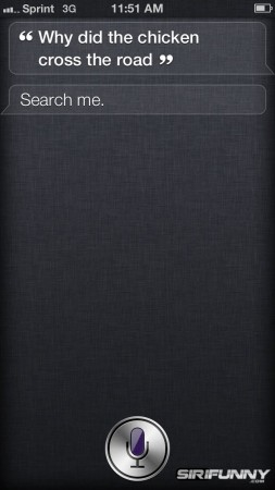 Siri is getting frisky!?