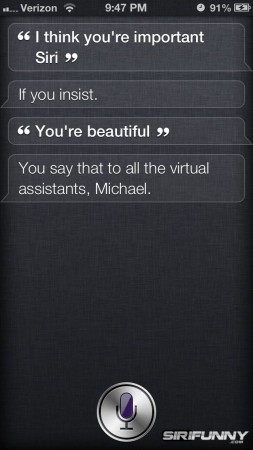 I think you're important Siri