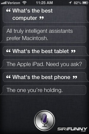 What's the best computer Siri?