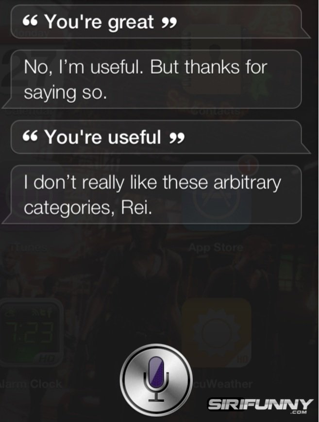 Siri is useful