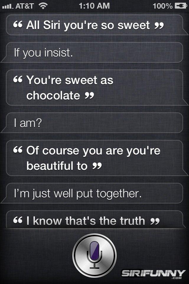 Sweet Siri